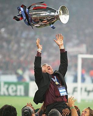 Ancelotti, son beau sapin
