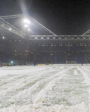 Neige et froid : tempête sur la Serie A