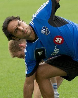 L'Impact de Montréal, copie de l'Italie Euro 2004