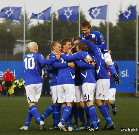 Stjarnan Islande Célébration